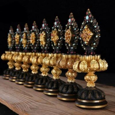 Bát Đại Cát Tường Thù Thắng Cúng Phật OMN1173