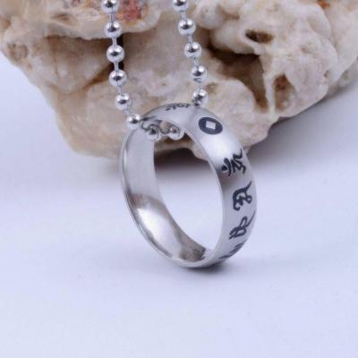 Nhẫn khắc thần chú Om mani padme Hum